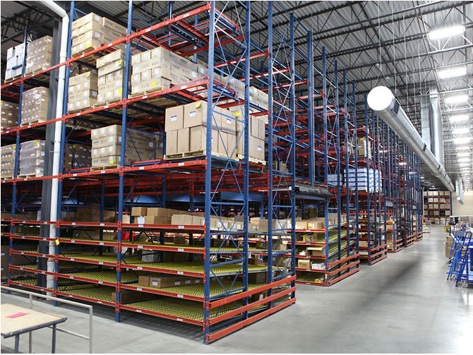 How to prevent fire when using storage racks