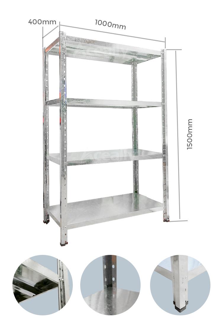 galvanizde angle shelf detalis