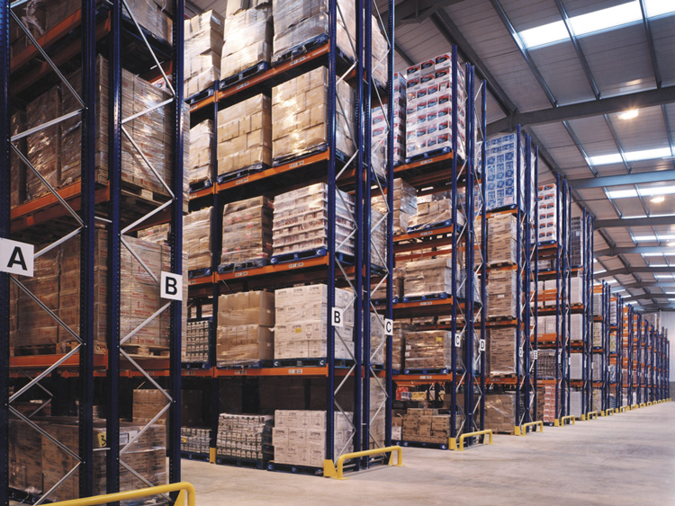 Reasons for underutilization of heavy duty pallet rack