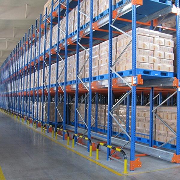 shuttle storage shelving