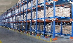 What is the difference between aisle warehouse shelving and shuttle storage shelving?