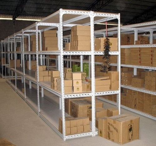 Metal angle shelving is ideal for many applications