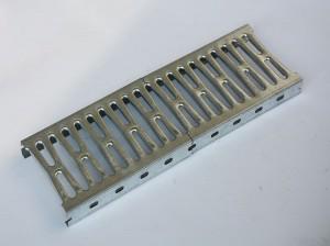 Heavy duty mezzanine flooring open steel plank with hooks
