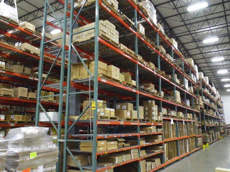 Industrial Pallet Rack Shelving Featured Image