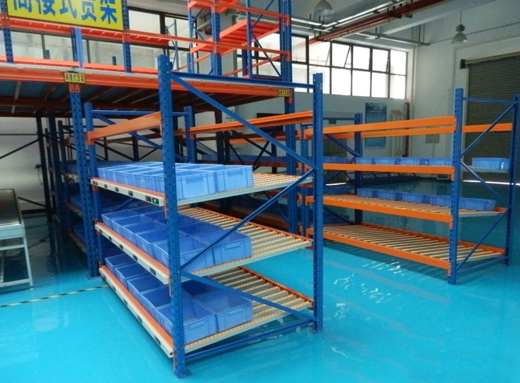 Operation of carton flow racking