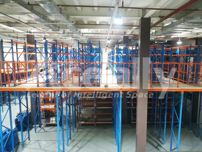 Steel Mezzanine Platform for Philippines Client