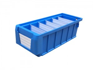 Stackable Nestable Plastic Tote Bins