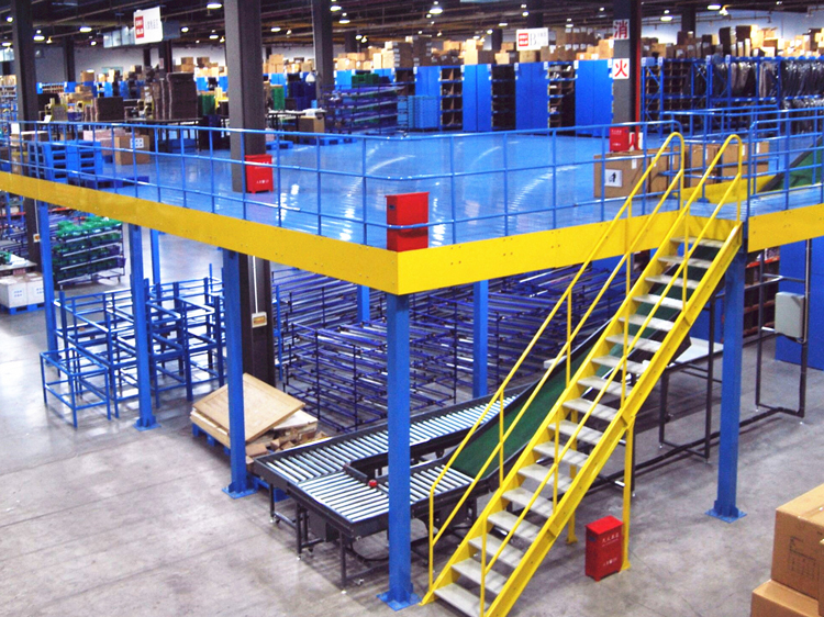 Advantages of a small warehouse in choosing the mezzanine floor