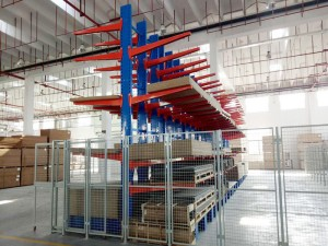 Warehouse Cantilever Racking Systems for Pipe Storage