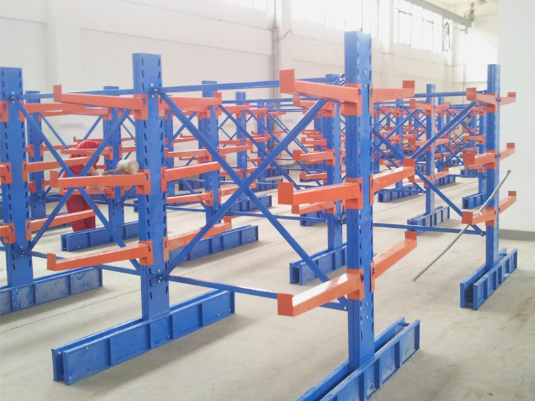 Steel Cantilever Racking System for Steel Plate Featured Image