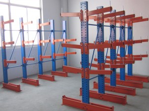 Steel Cantilever Racking System for Steel Plate