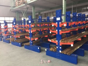 Warehouse Cantilever Storage Racks for Lumber