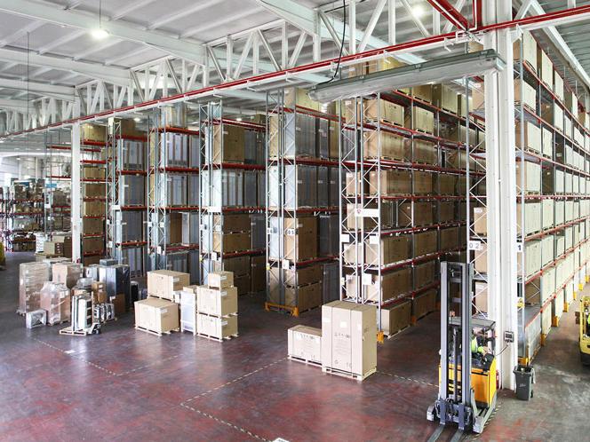 Design rules for heavy duty warehouse racks