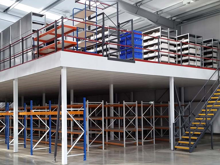 Is the mezzanine floor highly utilized?