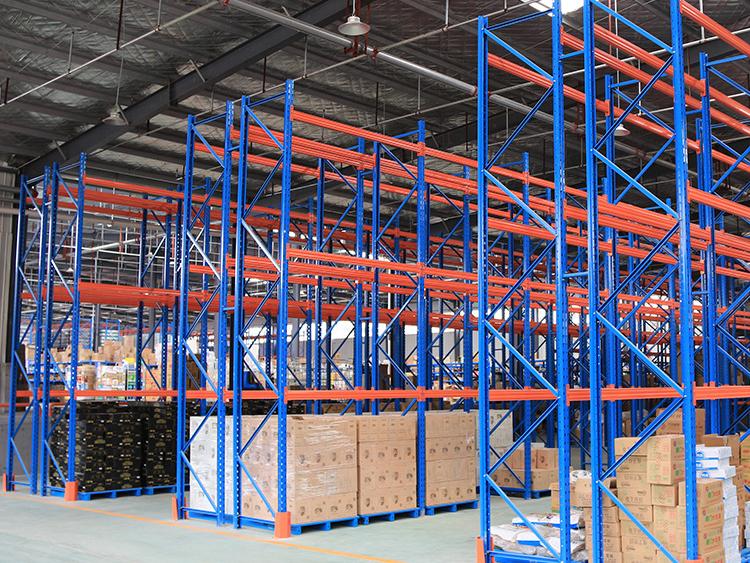 Moistureproof skill of rack warehouse in spring