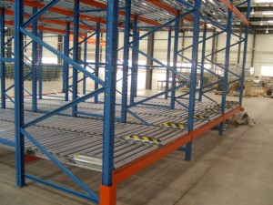 Warehouse Heavy Duty Pallet Gravity Flow Rack