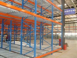 Warehouse Heavy Duty Pallet Gravity Flow Rack