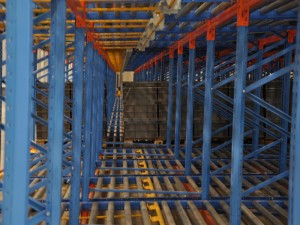 Pallet Live Storage Racking System