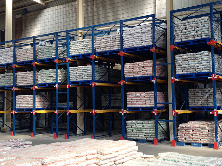 Precautions for use of drive in racking system