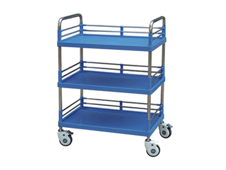 Mobile Hospital Multi-functional Medical Treatment Emergency Trolley Cart Featured Image