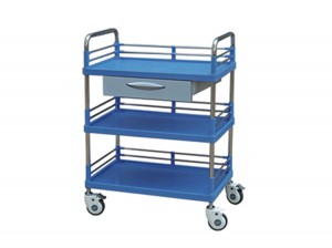 Mobile Hospital Multi-functional Medical Treatment Emergency Trolley Cart