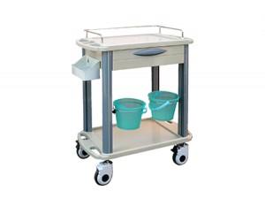 Hospital ABS Medical Treatment Trolley Cart
