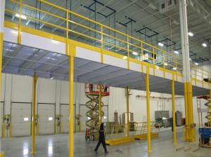 Steel Platform Mezzanine Floor Racking System