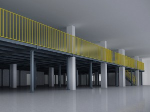 Steel Platform Warehouse Storage Racking System