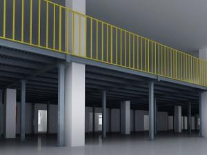 Steel Platform Warehouse Storage Racking System