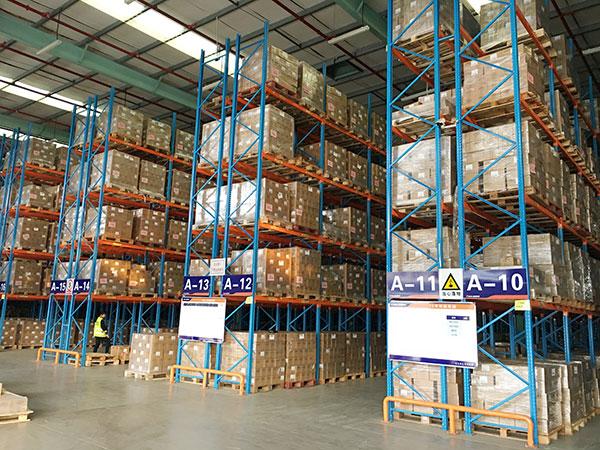 Storage racks requirements for storing hazardous chemicals