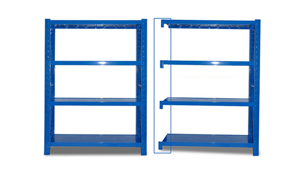 The difference between the main shelf and the sub shelf when purchasing the garage storage rack