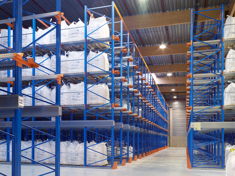 Types of storage rack for high density warehouse storage