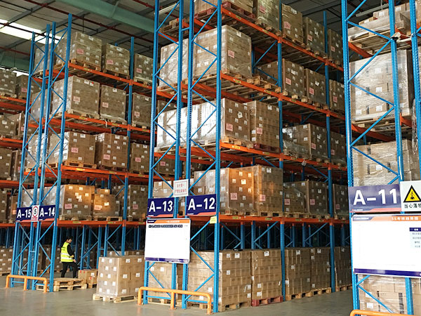 The characteristics of warehouse pallet racking
