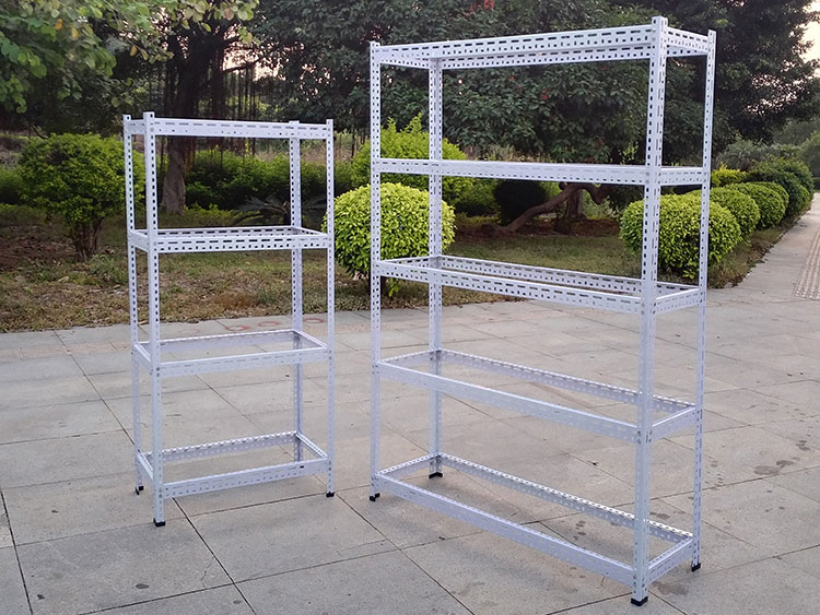 The characteristics of slotted angle shelving