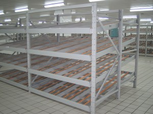 Gravity Flow Roller Rack Systems