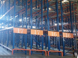 Warehouse Double Deep Pallet Racking