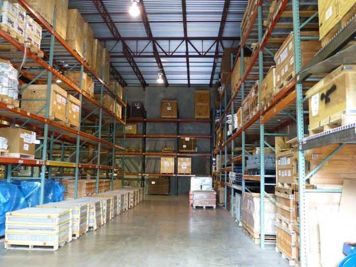 How to calculate the load of warehouse storage racking system?