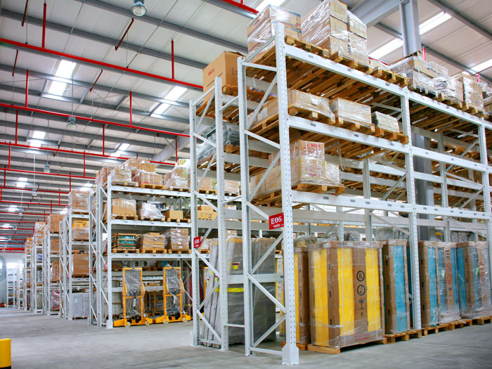 Warehouse Metal Selective Pallet Racking System Featured Image