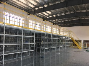 Warehouse Mezzanine Floor Racking Systems