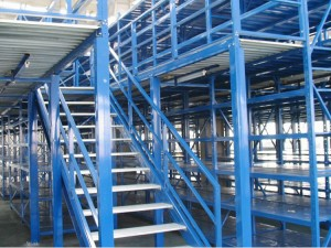 Warehouse Mezzanine Racking System