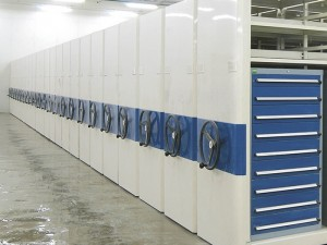 High Density Mobile Storage Shelving Systems