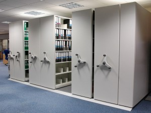 High Density Mobile Shelving System