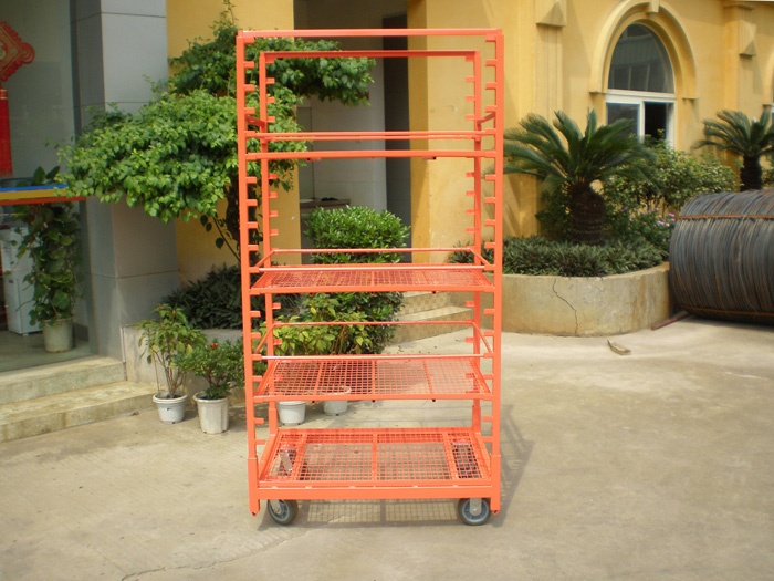 Display Danish Flower Trolley Cart for Greenhouse Featured Image