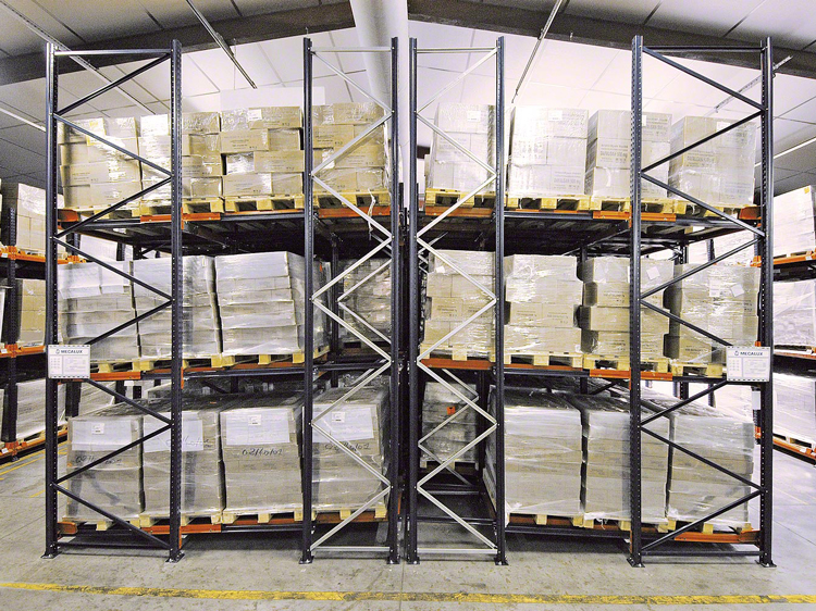 Common pallet rack of cold chain logistics