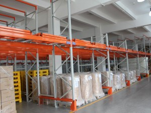 Warehouse Push Back Racking System