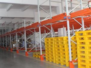 Warehouse Push Back Racking System