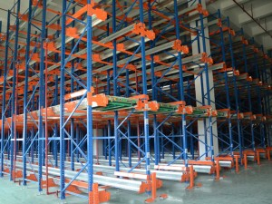 Warehouse Radio Shuttle Racking System