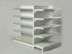 Metal Display Supermarket Shelves