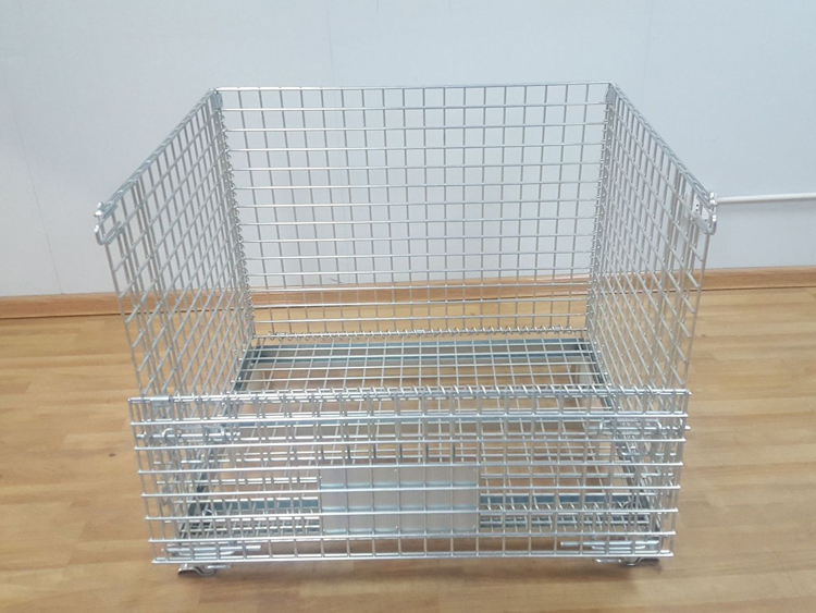 Collapsible Wire Mesh Containers for Bulk Storage Featured Image